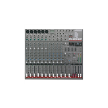 Phonic AM642DP 6 mono/4 stereo csatorna/2 sub/effekt/USB lejátszó