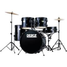 PEACE DP-101-9#11 - 5 pcs Drum set in poplar with wrapped finishes and brass cymbals