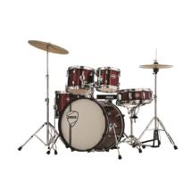 """PEACE DP-105-20CH-C#25 - 5 pcs complete drumkit with 20"""" bass drum and REMO heads"""