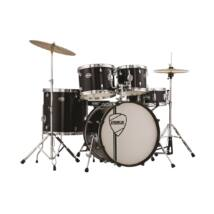 """PEACE DP-105-18CH-C#11 - 5 pcs complete drumkit with 18"""" bass drum and REMO heads"""