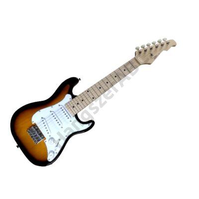 Gyerek Elektromos Gitár Stratocaster 1/2, Feles méretű, gyerekgitár