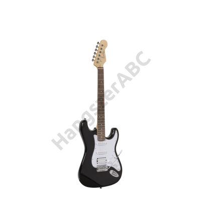 SOUNDSATION RIDER-STD-H BK - Double Cutaway elektromos gitár 2 Single Coil + 1 Humbuckerral