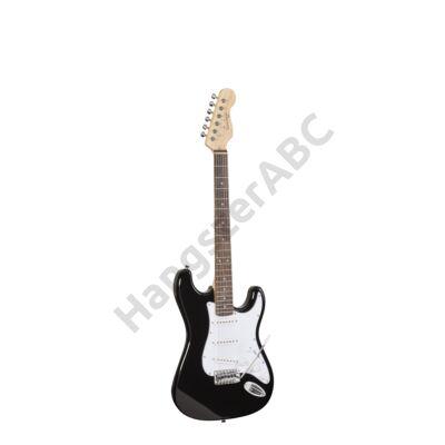 SOUNDSATION RIDER-STD-S BK - Double Cutaway elektromos gitár 3 Single Coil pickuppel