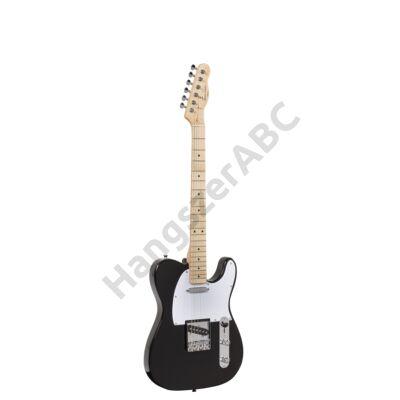 SOUNDSATION TWANGER-M BK - Cutaway elektromos gitár 1 single coil és 1 lipstick pickuppel