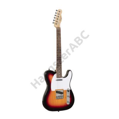 SOUNDSATION TWANGER-R 3TS - Cutaway elektromos gitár 1 single coil és 1 lipstick pickuppel