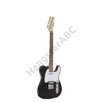 SOUNDSATION TWANGER-R BK - Cutaway elektromos gitár 1 single coil és 1 lipstick pickuppel