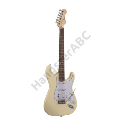 SOUNDSATION RIDER-PRO-RSH VW - Double cutaway electric guitar with 2 single coils + splittable humbucker and self-locking tuners (Wilkinson equipped, eco-rosewood fretboard)