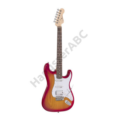 SOUNDSATION RIDER-PRO-RSH SSB - Double cutaway electric guitar with 2 single coils + splittable humbucker and self-locking tuners (Wilkinson equipped, eco-rosewood fretboard)
