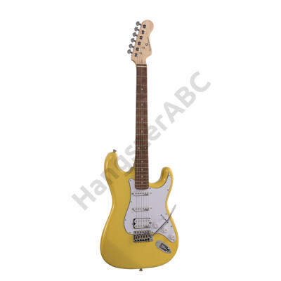 SOUNDSATION RIDER-PRO-RSH VB - Double cutaway electric guitar with 2 single coils + splittable humbucker and self-locking tuners (Wilkinson equipped, eco-rosewood fretboard)