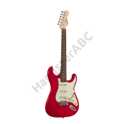 SOUNDSATION RIDER-RETRO-R FR - Double cutaway electric guitar with 3 single coils and vintage tuners (Wilkinson equipped, eco-rosewood fretboard)