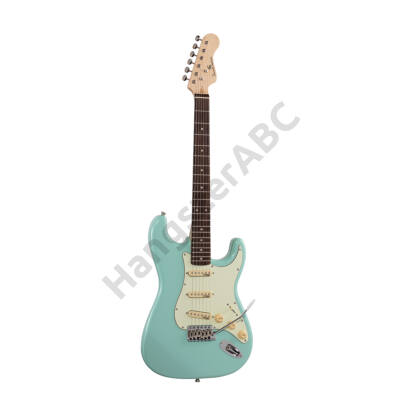 SOUNDSATION RIDER-RETRO-R FG - Double cutaway electric guitar with 3 single coils and vintage tuners (Wilkinson equipped, eco-rosewood fretboard)