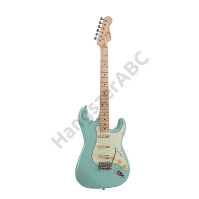 SOUNDSATION RIDER-RETRO-M FG - Double cutaway electric guitar with 3 single coils and vintage tuners (Wilkinson equipped, maple fretboard)