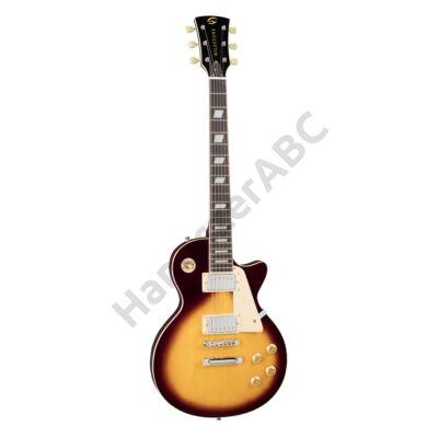 SOUNDSATION MILESTONE PRO-VSB - Ívelt fedlapú cutaway elektromos gitár 2 humbucker pickuppal és ragasztott nyakkal